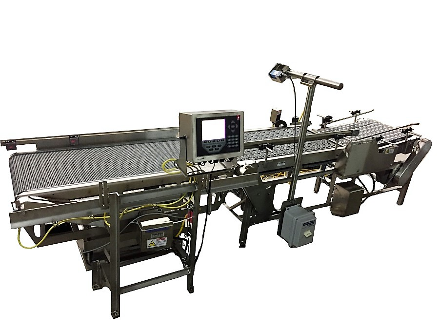 in-motion weighing and labeling